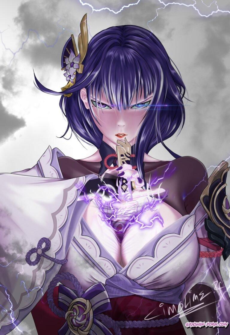 Baal - Booba sword uwu • Genshin Impact Porn